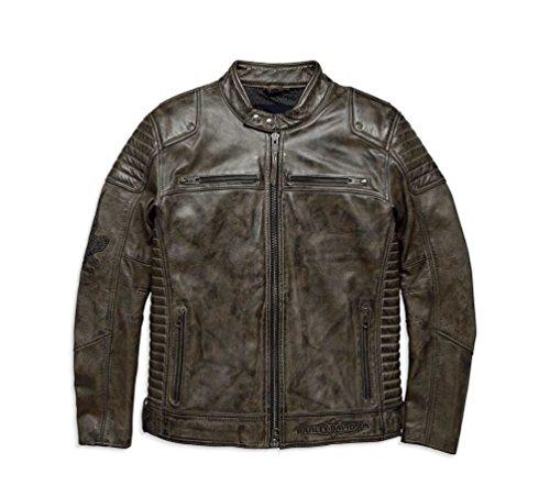Harley Davidson Leather Motorcycle Jackets For Men - 9