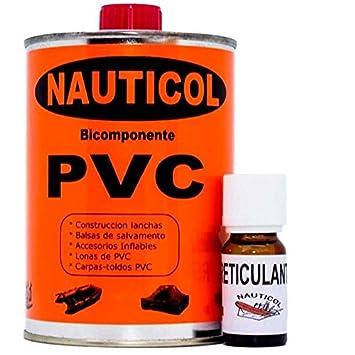 Nauticol Pegamento para reparación de neumáticas de PVC Pegamento ...