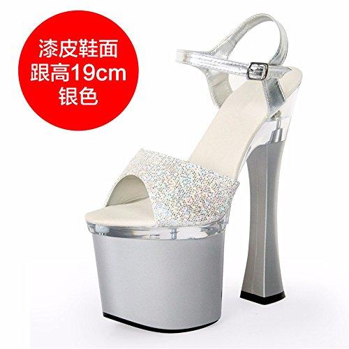 sexy di sandali lady estate FLYRCX h alti Moda europea personalità tacchi scarpe partito qwRgATfa