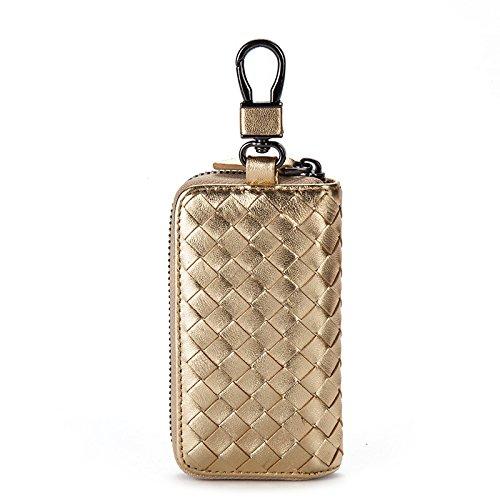 Mefly Key Wrap Colgando De La Cintura De Cuero Grandes Hombres Multifuncional Tirano Gold Big tyrant gold