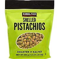 Kirkland Signature Shelled Roasted & Salted Pistachios - 1.5 lbs
