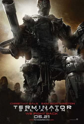 Amazon.com: Movie Posters Terminator: Salvation - 11 x 17: Posters & Prints