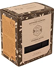 Crate 61 Activated Charcoal & Argan oil Soap 3 pack, 100% Vegan Cold Process, scented with premium essential oils, for men and women, face and body. ISO 9001 certified manufacturer