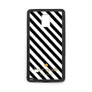 KOKOJIA Fashion Kate Spade Logo Custom Case for SamSung Galaxy Note4 (Laser Technology)
