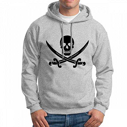 Hoodies Personnalisés Pirates Costumées Gris Sweat À Capuche