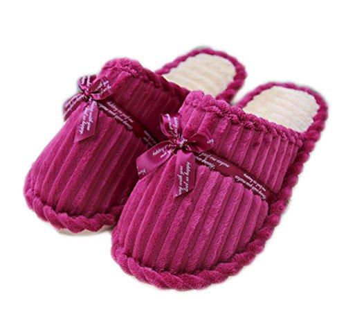 Casa Rosa Respirabili Calde I Caramella Auspicious Pantofole Colore Della Di Pattini Dell'interno Donne Accattivanti Delle Beginning Coprono xaXxwqfT