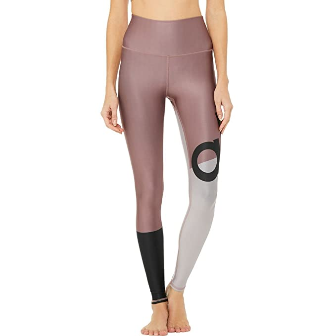 Alo Yoga High Waist Tech Lift Airbrush Colorblock Legging   Women's by Alo+Yoga
