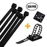 Zip Ties – Fence Screen Cable Ties Self-Locking
