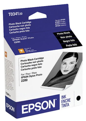 Epson Inkjet Cartridge (Photo Black) (T034120) (Epson T034120 Black Inkjet)