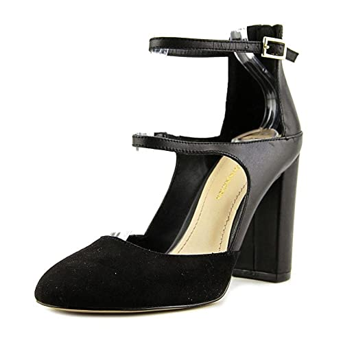 dabd75fd0499 BCBGeneration Womens Leissa Leather Round Toe Ankle Strap Mary ...