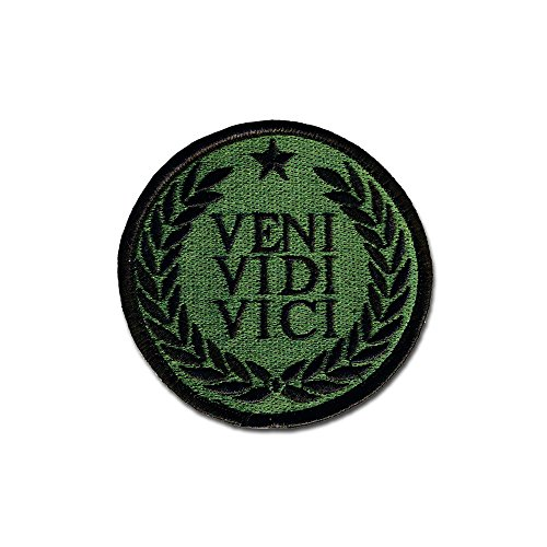 Tactical Combat Bagde Military Hook And Loop Badge Embroidered Velcro Morale Patch   Veni Vidi Vici Odg