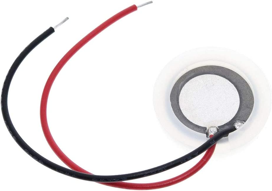 XinQuan Wang 20 mm 2,4 Mhz ultrasónico vaporizador transductor atomizador hoja oscilante piezoeléctrico de cerámica humidificador accesorios