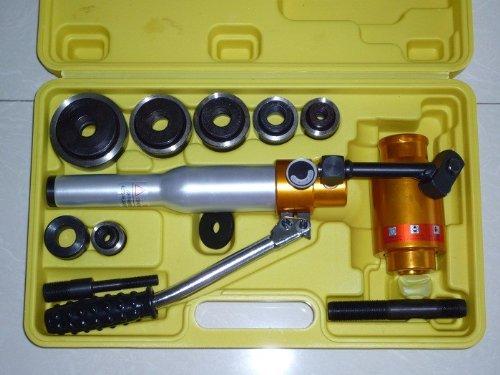 油圧パンチャー 油圧パンチ セット 油圧工具 ノックパン F型 B00HZXT89O