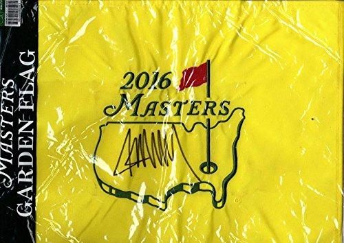 Coa Masters (President Donald Trump Autographed 2016 Masters Garden Bag AFTAL UACC RD COA)