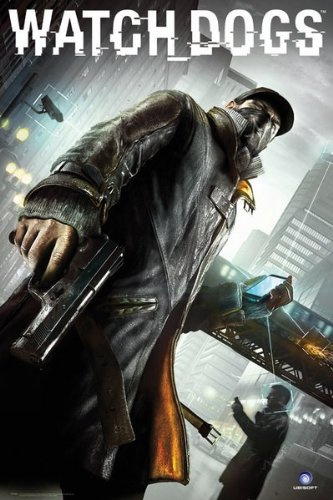 Laminated Children's Maxi Poster featuring Aiden Pearce from Watch Dogs 61x91.5cm