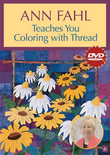 Mustang Embroidery (Ann Fahl Teaches You Coloring with Thread (DVD): At Home with the Experts #6)