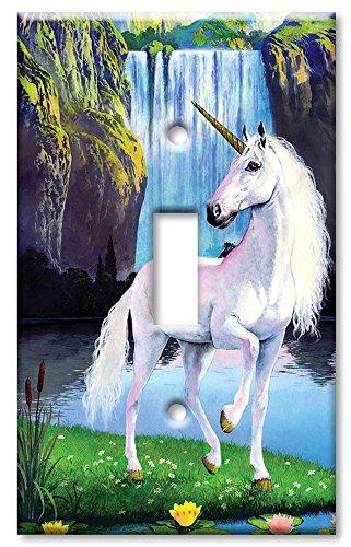 Art Plates - Unicorn Switch Plate - Single Toggle
