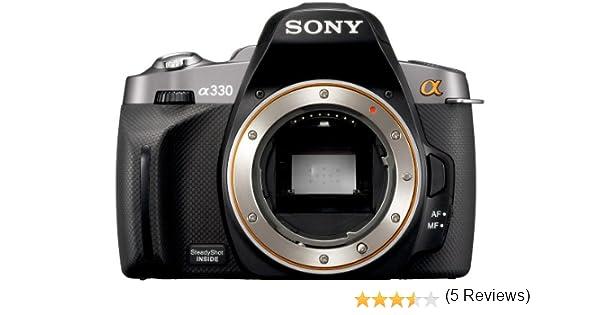 Sony a (Alpha) D-A330 - Cámara Réflex Digital 10.2 MP (Cuerpo ...