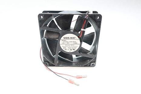 Lock Rotor 3-Wire 119x38mm Flange NMB TECHNOLOGIES 4715KL-05W-B59-E00 DC Fans DC Axial Fan 129.9CFM 24VDC