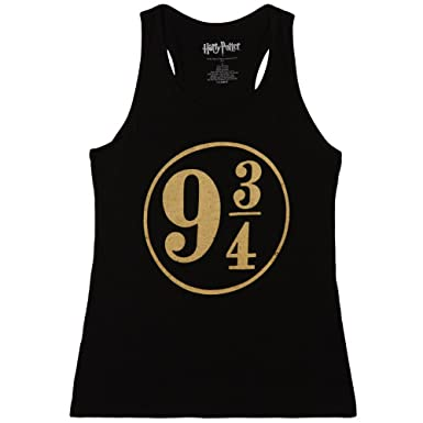 af74db8ab01e09 Amazon.com  HARRY POTTER Platform 9 3 4 Juniors Tank Top  Clothing
