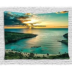 51GNIeM2OJL._SS300_ Beach Tapestries & Coastal Tapestries