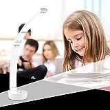 Desk Lamp, Lollipop Modren Style Simple Foldable Touch Control LED Table Reading light