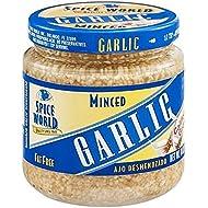 Spice World Garlic, Minced 8 Oz