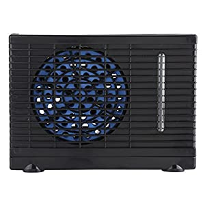Zerodis DC 12V Mini Evaporative Air Conditioner Portable Car Truck Cooler Cooling Fan Summer Air Circulator with Adjustable 2 speeds