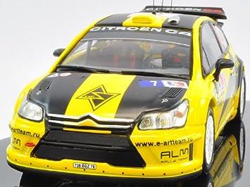 loeb 2009 #1 Rf1e car 1//43 ixo altaya rally finland Citroën c4 s