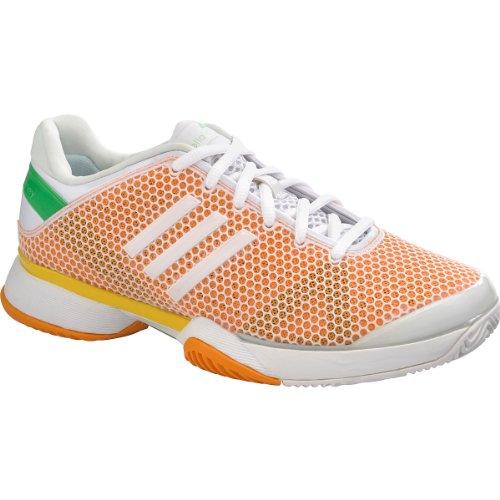 e9353f794f7c ADIDAS Q22144-S14 Women`s Stella McCartney Barricade Tennis Shoes Fresh  Aqua and Joy Orange - Buy Online in Oman.