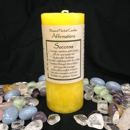 Affirmations - Success Candle
