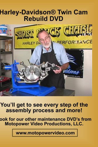 Harley Davidson(r) Twin Cam Rebuild DVD
