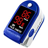 FaceLake ® FL400 Pulse Oximeter with Carrying Case,...