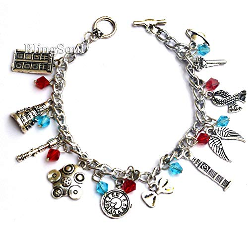 Doctor Who Charm Bracelet - Jewelry Merchandise Gifts Collection Women ()