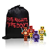 Five Nights At Freddy's Gift Bag & Boxed FNAF Mini Action Figure 8pcs/set