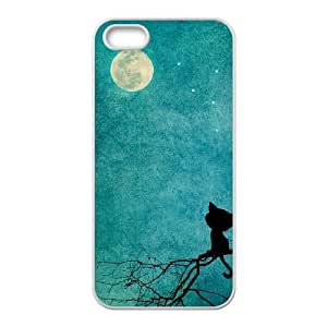 YAYADE Phone Case Of cute girl Fantasy PERFECT PATTERN for Iphone 5 5g 5s