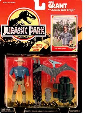 Jurassic Park - Alan Grant with Aerial Net Trap