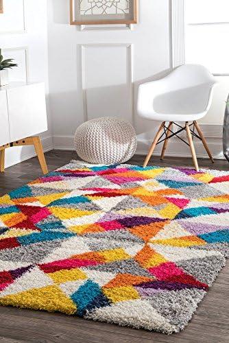 nuLOOM Deedee Mosaic Shag Rug