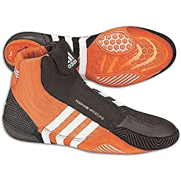Adidas Mens Response Wrestling, Orange/RWhite/Black (7.5)