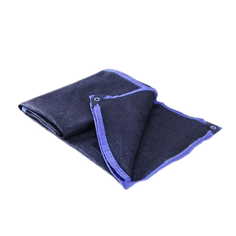 Rete ombreggiante Ombrellone Nero per Tende A Effetto Serra da 8 Pin Ombrellone da 80% per Tende da Giardino (Dimensioni   4  10m)
