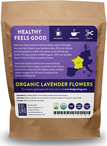 Organic Lavender Flowers (Extra ...