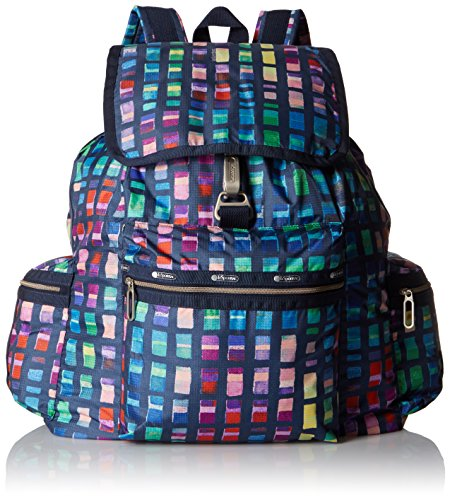 Lesportsac Essential 3 Zip Voyager Backpack - Color Block...