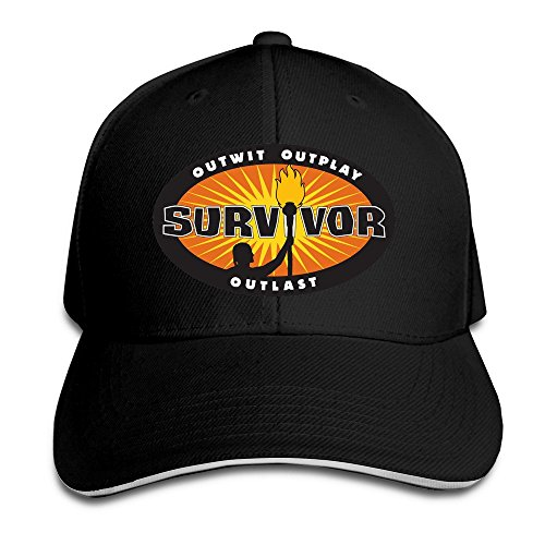 Survivor Logo Hat Unisex-Adult Hip-Pop Snapback Cap