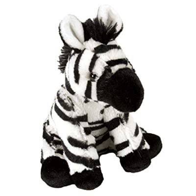 Wild Republic Zebra Baby Plush, Stuffed Animal, Plush Toy, Gifts for Kids, Cuddlekins 8 Inches: Toys & Games
