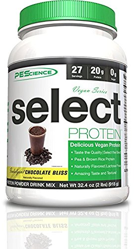 PEScience : Select Vegan Protein - Chocolate Bliss (27 servings) by PEScience