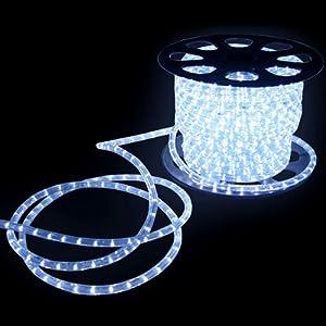 led lichtschlauch 50m lichterschlauch weiss innen au en 21220 sch nes licht. Black Bedroom Furniture Sets. Home Design Ideas