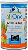 All One Nutritech Active Seniors Multiple Vitamin and Mineral Powder Unflavored -- 5.3 oz - 3PC