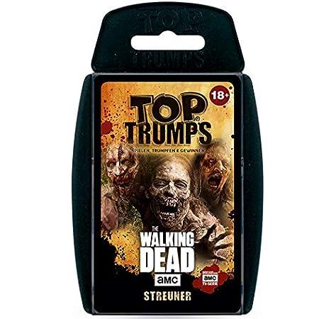 Winning Moves- Top Trumps - The Walking Dead AMC Streuner Edition Zombies Juego de Cartas, Color (63445): Amazon.es: Juguetes y juegos