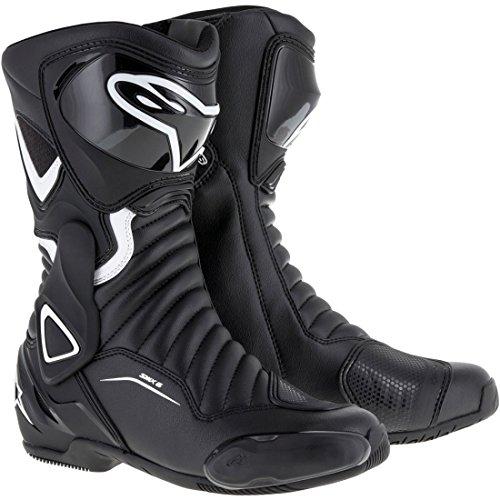(Alpinestars SMX-6 V2 Women's Street Motorcycle Boots - Black/White / 42)