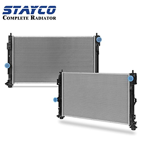 STAYCO Radiator 2951 for 2007-2014 Jeep Patriot/Compass, 2008-2012 Dodge Caliber/Avenger,2007-2010 Chrysler Sebring etc.
